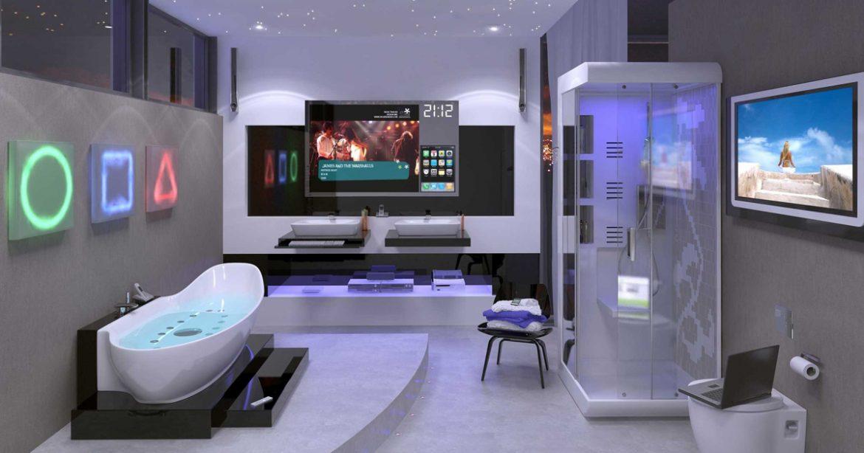 Novas tecnologias na decoração de banheiros