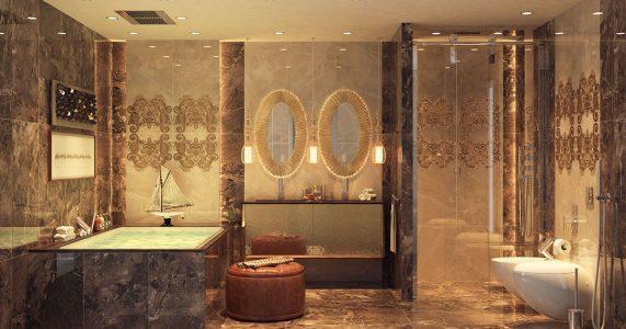 Como ter um banheiro de luxo em sua casa