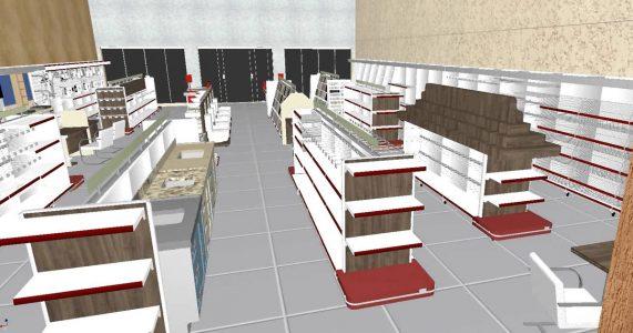 Um layout de loja de materiais de contrução bem feito garante mais vendas